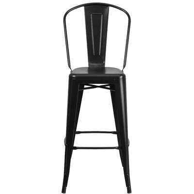 30.25 Bar Stool Finish: Matte Black