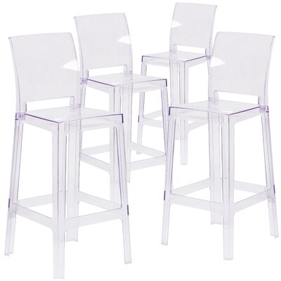Darchelle Bar Stool with Square Back