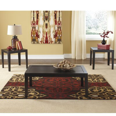 Eunson 3 Piece Coffee Table Set