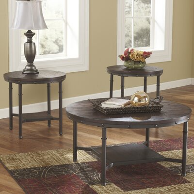 Sandling 3 Piece Coffee Table Set
