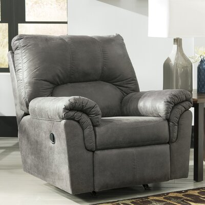 Baltierra Manual Rocker Recliner Upholstery: Slate