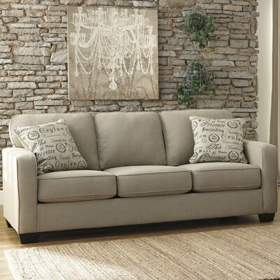 Alenya Sofa Upholstery: Quartz