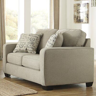 Alenya Loveseat Upholstery: Quartz