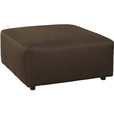 Jayceon Oversized Accent Ottoman Upholstery: Java