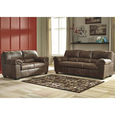 Baltierra 2 Piece Living Room Set Upholstery: Coffee