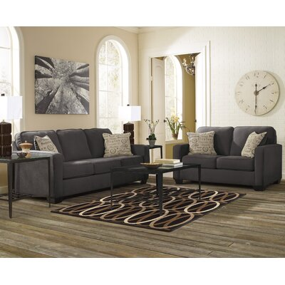 Alenya Living Room Set Upholstery: Charcoal