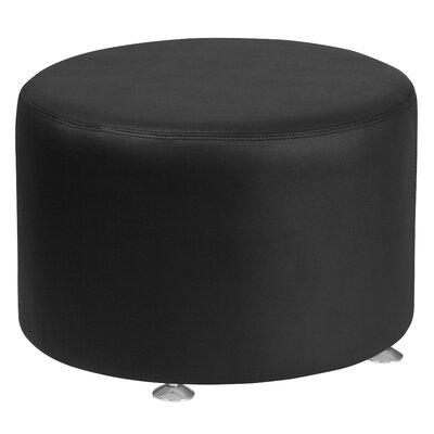 Krysten Round Ottoman Upholstery: Black