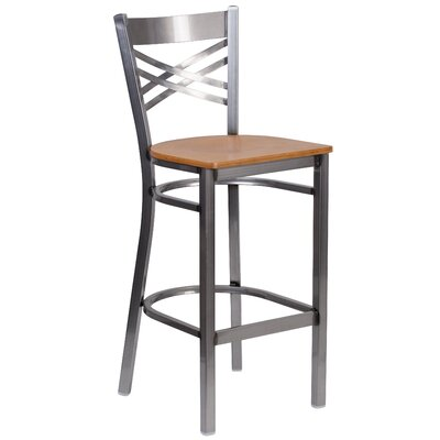 Socorro 29 Bar Stool Finish: Natural