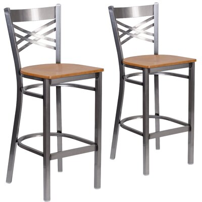 Socorro 31 Bar Stool Finish: Natural