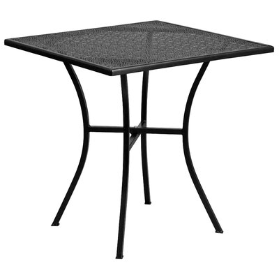 Bistro Table Finish: Black