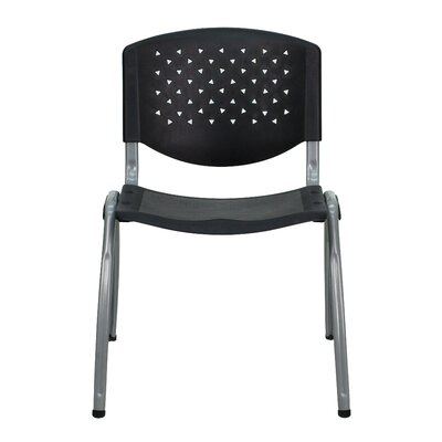Series Armless Stacking Chair (Set of 2)