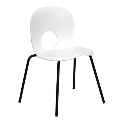 Low Price FlashFurniture Hercules Series Stacking Side Chair Quantity: Set of 16, Finish: White