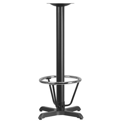 Restaurant Table Base Size: 42H x 22W x 22D