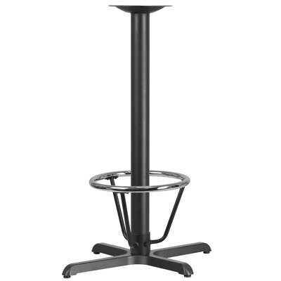Restaurant Table Base Size: 42H x 22W x 30D