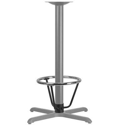 Bashaw Bar Height Table Base Foot Ring with Column Ring Size: 16 H x 12 W x 12 D