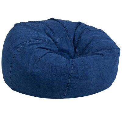 Denim Kids Bean Bag Chair