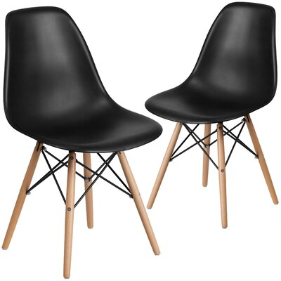 Ressler Guest Chair Seat Color: Black