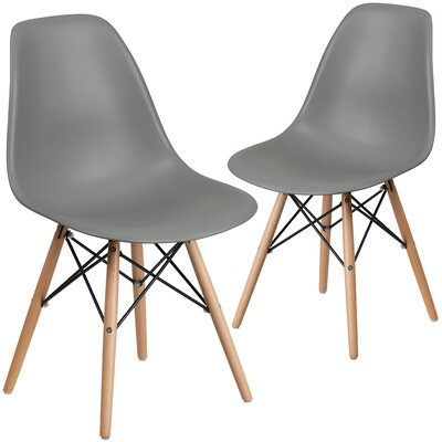 Ressler Guest Chair Seat Color: Gray