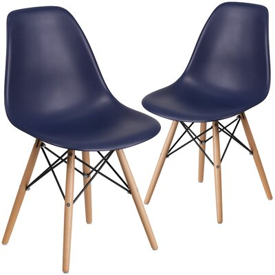 Ressler Guest Chair Seat Color: Navy