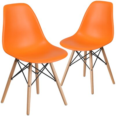 Ressler Guest Chair Seat Color: Orange