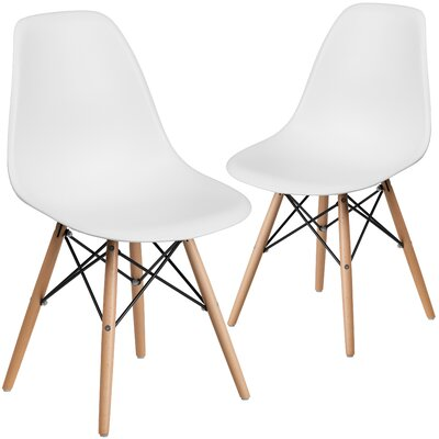 Ressler Guest Chair Seat Color: White