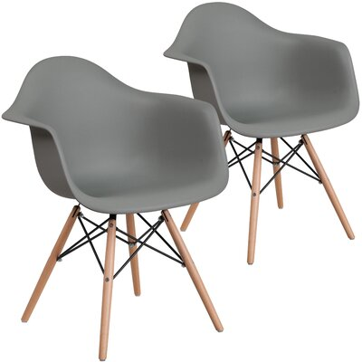 Restivo Guest Chair Seat Color: Gray