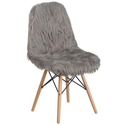 Alsop Side Chair Upholstery: Gray
