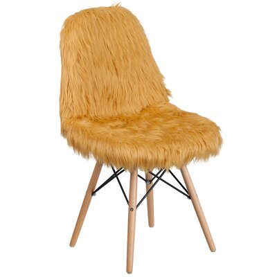 Alsop Side Chair Upholstery: Beige