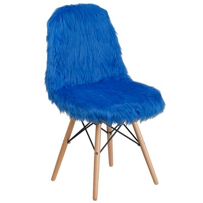 Alsop Side Chair Upholstery: Cobalt Blue