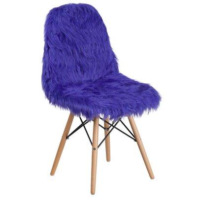 Alsop Side Chair Upholstery: Dark Blue
