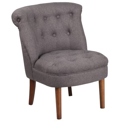 Rotterdam Upholstered Side Chair Upholstery: Gray