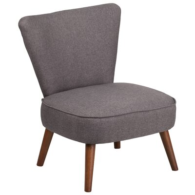 Pepe Side Chair Upholstery: Gray