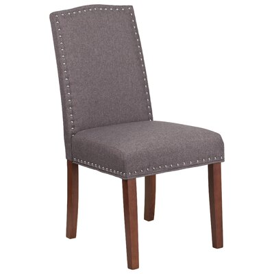 Rotterdam Upholstered Dining Chair Upholstery: Gray