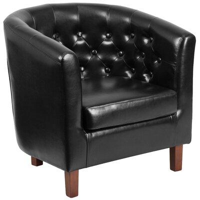 Rotterdam Barrel Chair Upholstery: Black