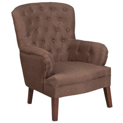 Blackwater Armchair Upholstery: Brown