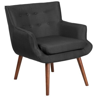 Bachman Armchair Upholstery: Black