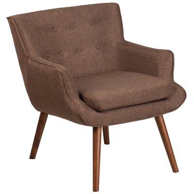 Bachman Armchair Upholstery: Brown