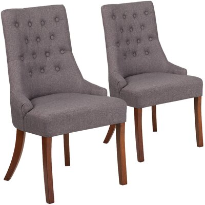 Orland Side Chair Upholstery: Gray