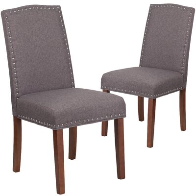 Orland Parsons Dining Chair Upholstery Color: Gray