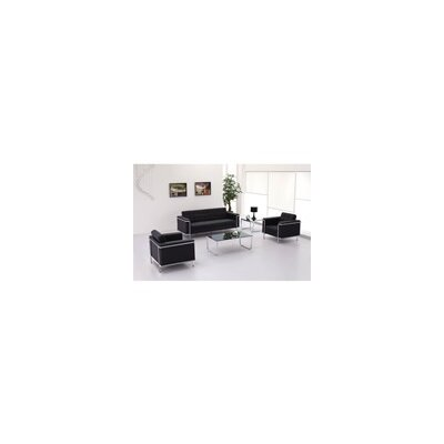 Black Leather Living Room  on Flashfurniture Hercules Lesley Leather Living Room Collection