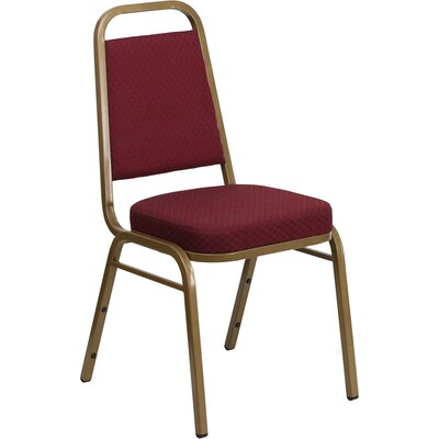 Hercules Series Guest Chair Seat Finish: Burgundy Patterned Fabric