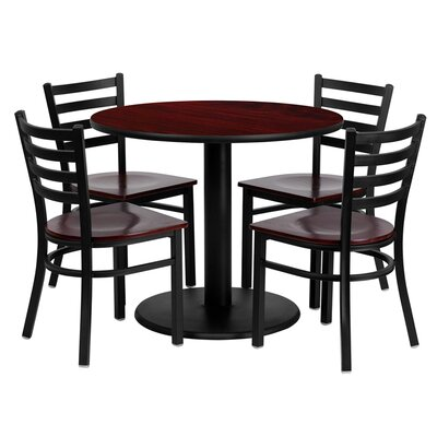 Sanket 5 Piece Dining Set