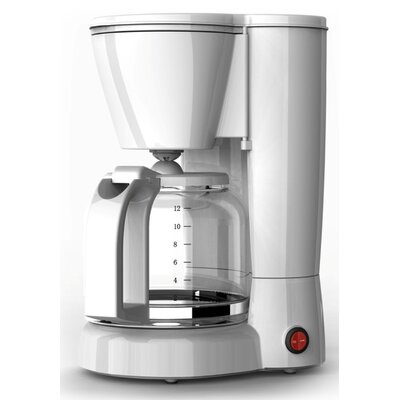 Aroma Brew 12 Cup Coffee Maker Color: White 66358