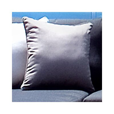 Piano Outdoor Throw Pillow Color: Sunbrella Taupe