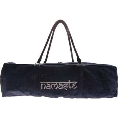 No credit check financing Namaste Yoga Kit Bag in Navy Blue...