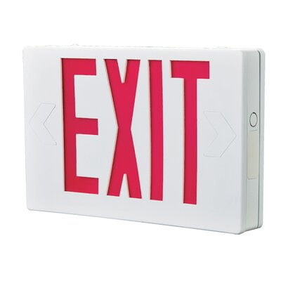 All Pro Exit Light Color: Red