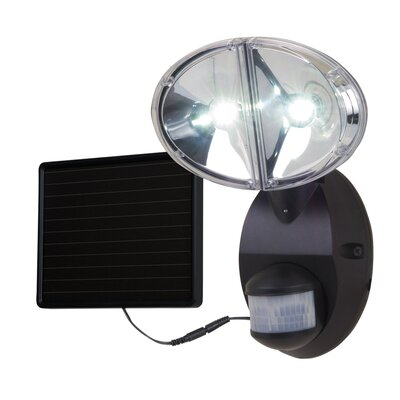 All-Pro Solar 180 Degree Motion LED Flood Light