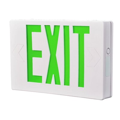 All Pro Exit Light Color: Green