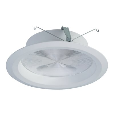 Integrated LED Recessed Housing Size: 2.5 H x 9.75 W x 9.75 D, Lumens: 4000