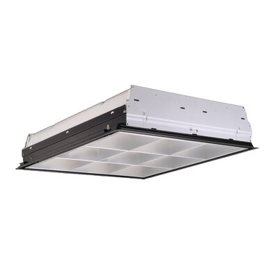 2-Light Fluorescent Parabolic High Bay
